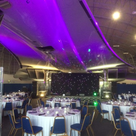 Corporate event DJ Manchester – Party under Concorde